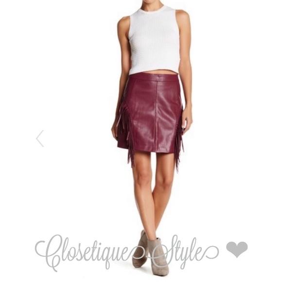 2155542eb Romeo & Juliet Couture Skirts | Romeo Juliet Fringe Skirt | Poshmark